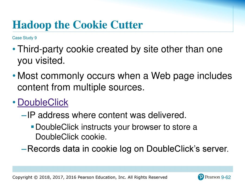 case study 9 hadoop the cookie cutter
