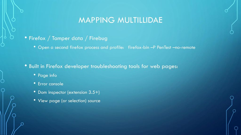 Hacking 101 Vulnerability scanning & Pentesting - ppt download