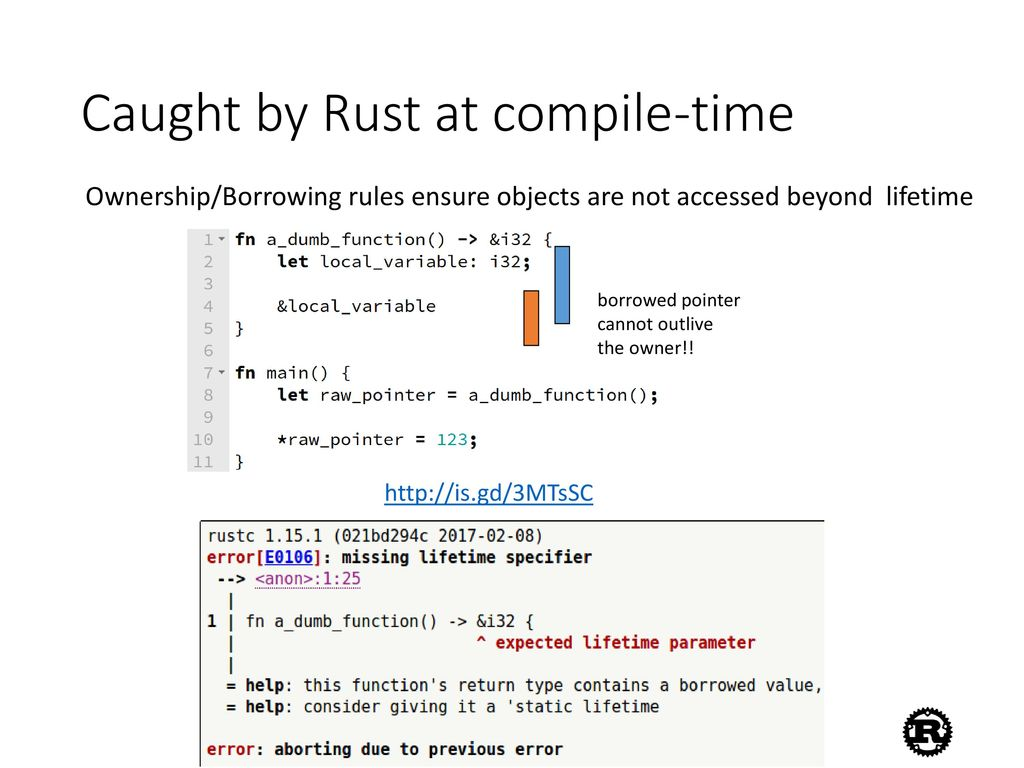 rust static variable