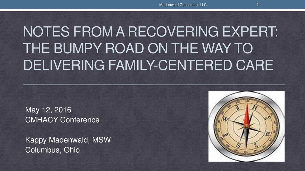 May 12 2016 Cmhacy Conference Kappy Madenwald Msw Columbus Ohio