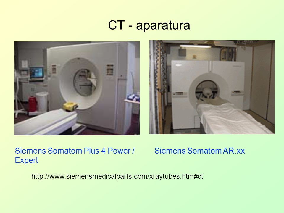CT - aparatura Siemens Somatom Plus 4 Power / Expert