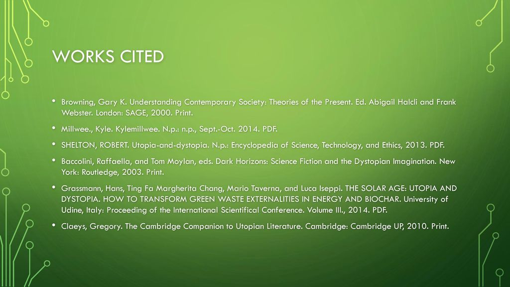 That which is defined Utopia And Dystopia - ppt video online
