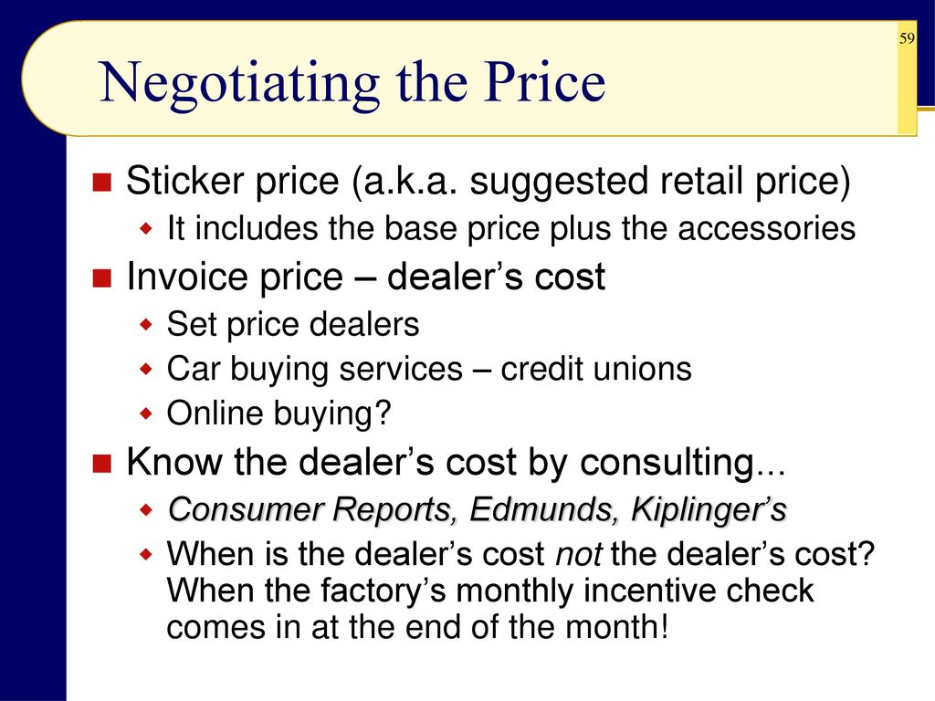 Chapter 6 Consumer Purchasing Strategies And Wise Buying Of Motor