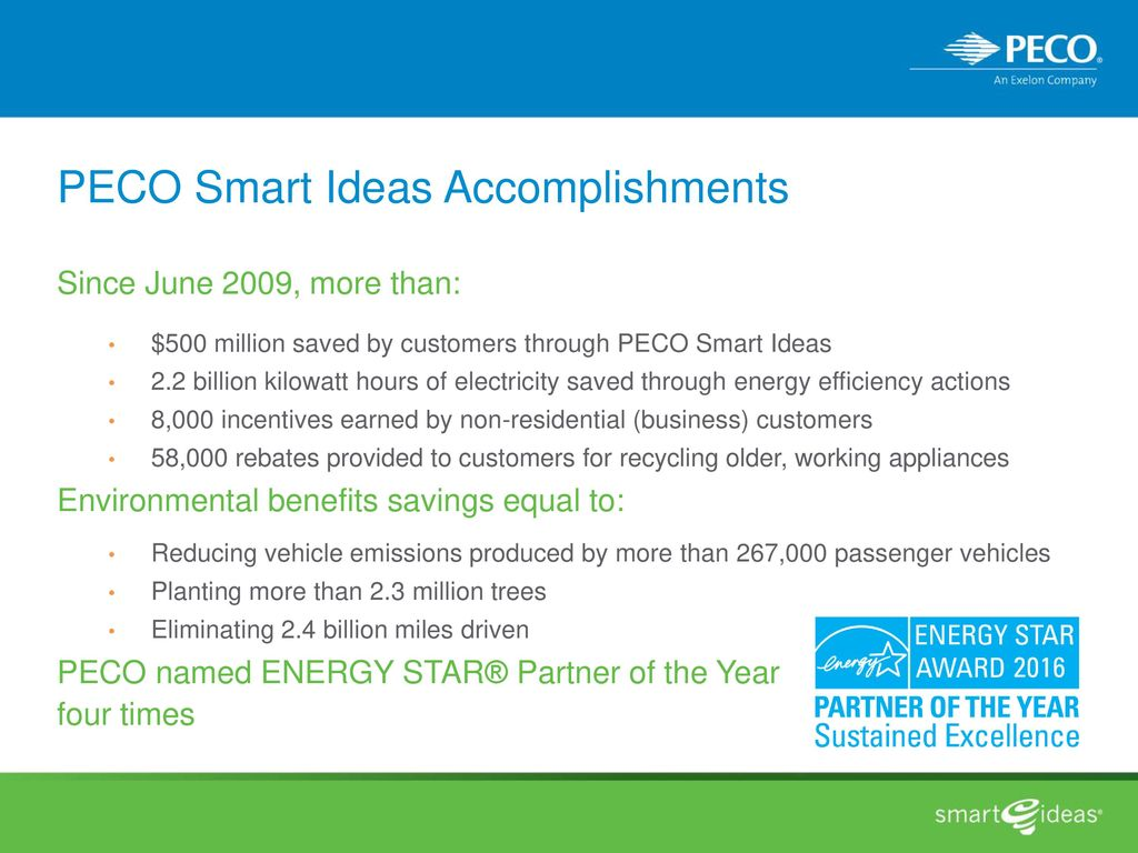 peco smart ideas for your business - ppt download
