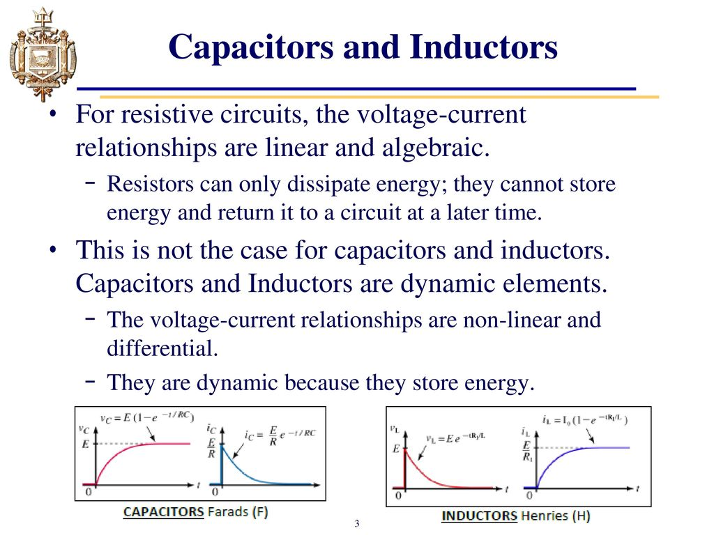 Lesson 11 Capacitors Chapter 10 And Inductors Ppt Inductor Equivalent Circuit Of A Real