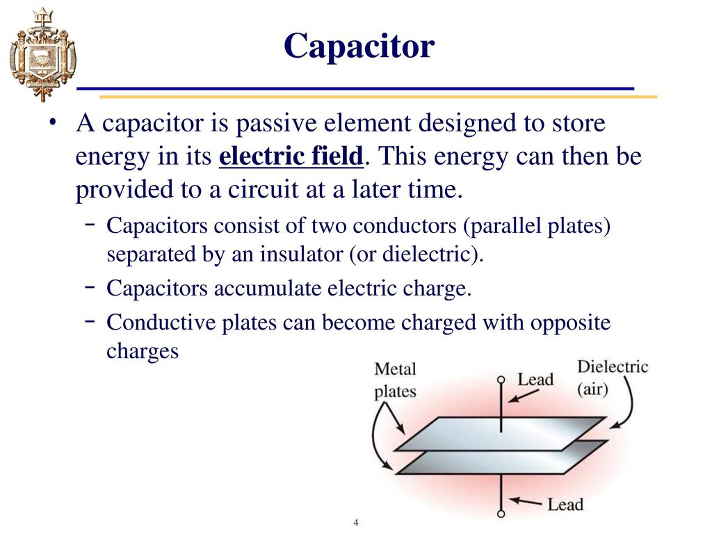 Lesson 11 Capacitors Chapter 10 And Inductors Ppt Capacitor Charge Circuit