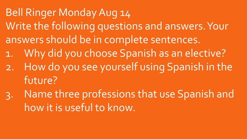 Plans for first week august ppt download 2 bell solutioingenieria Images