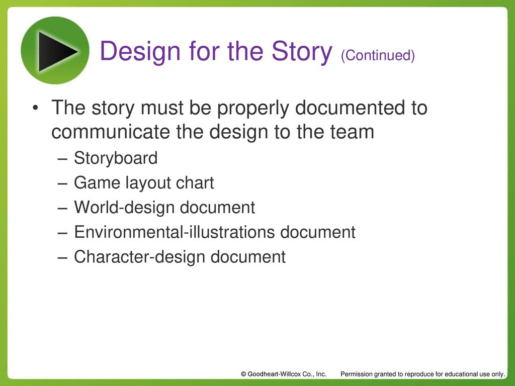 Chapter Story Composition Chapter Story Composition Ppt Download - Character design document