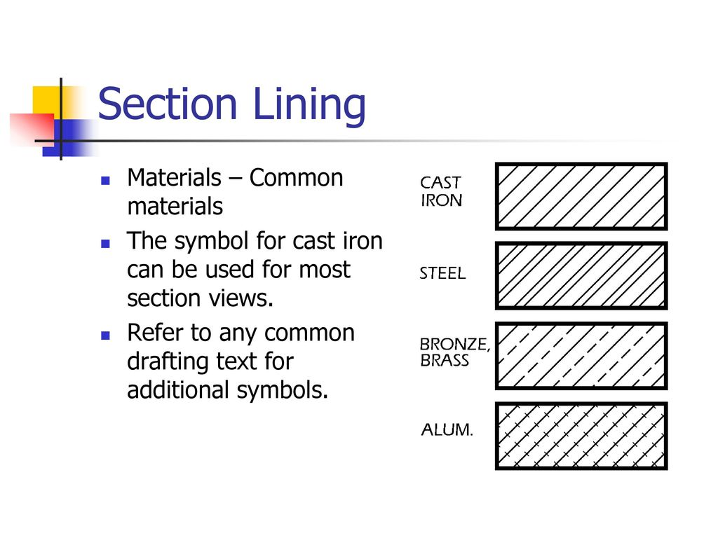 Drawing Section Views Ppt Video Online Download