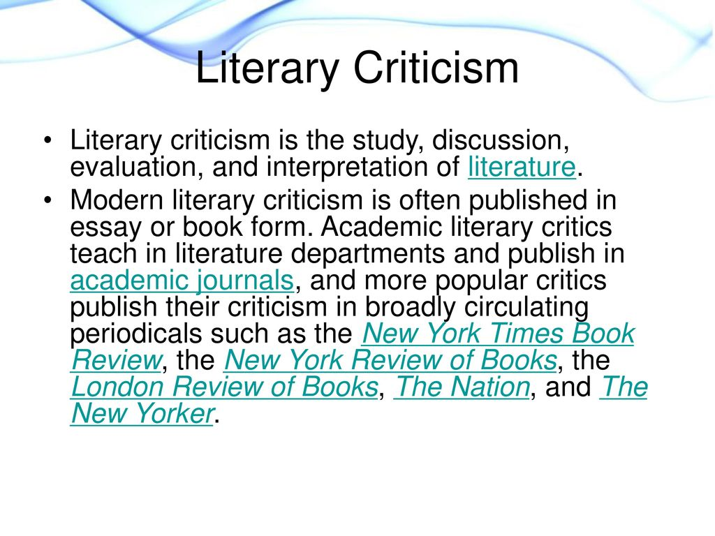 a literary criticism in the evaluation of animal farm The orwell reader: animal satire in animal farm about the author michael stratford is a national board-certified and single subject credentialed teacher with a master of science in educational rehabilitation (university of montana, 1995.
