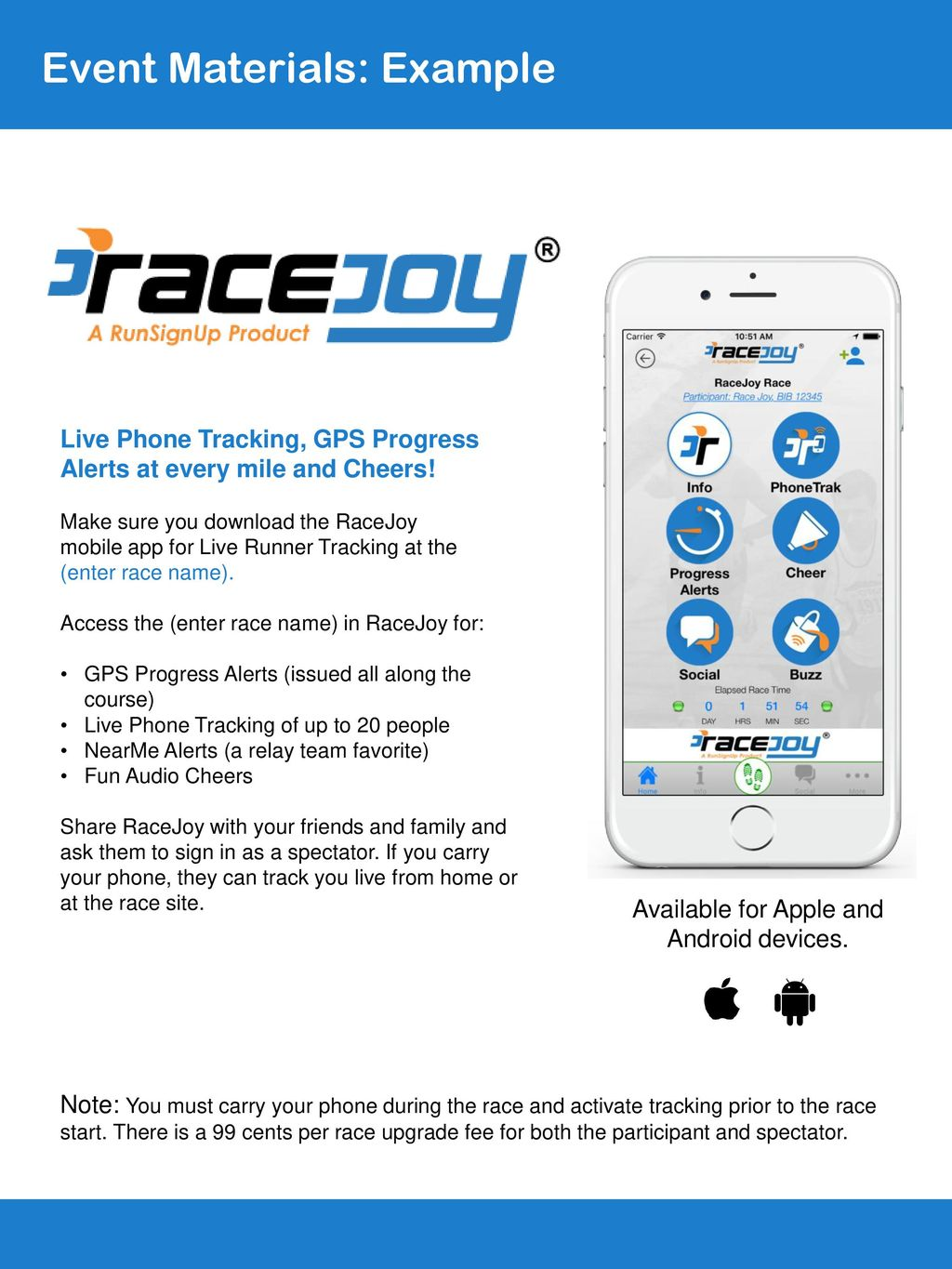 RaceJoy Ready Promotion Toolkit (PhoneTrak, Basic) - ppt download