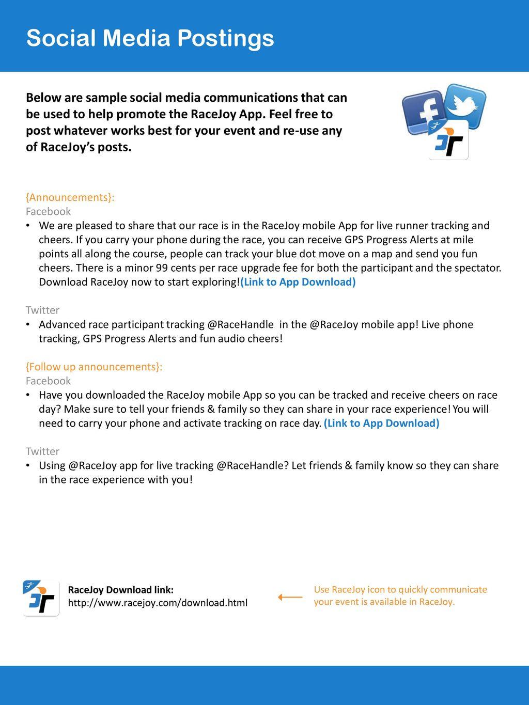 RaceJoy Ready Promotion Toolkit (PhoneTrak, Basic) - ppt download