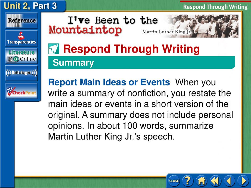 i ve been to the mountaintop rhetorical analysis