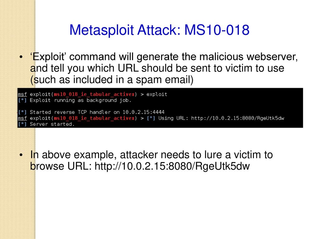 Penetration Testing Exploiting 2: Compromising Target by