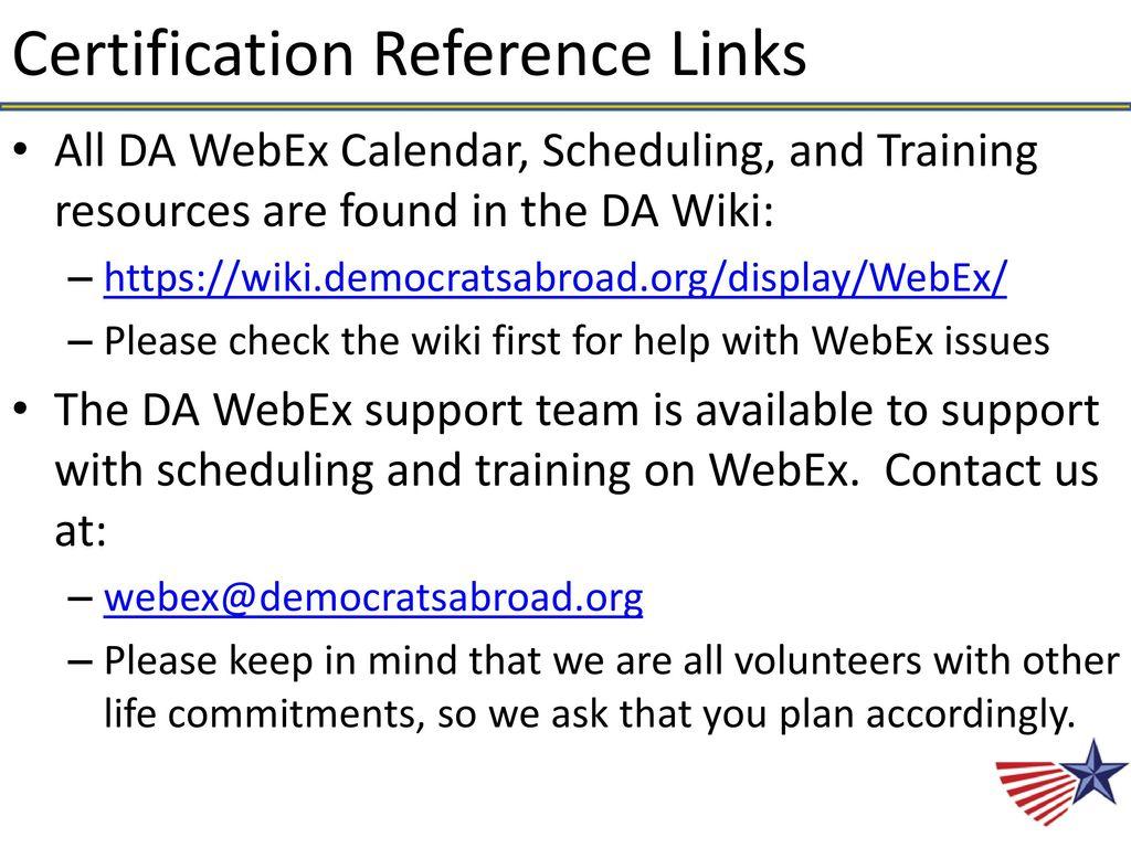 Your DA WebEx Team Presents: - ppt download