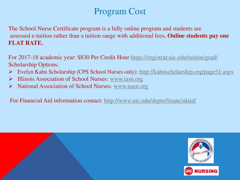 Uic School Nurse Certificate Program Ppt Download
