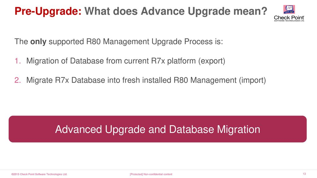 R80 Security management Upgrade from R > R80 Things you