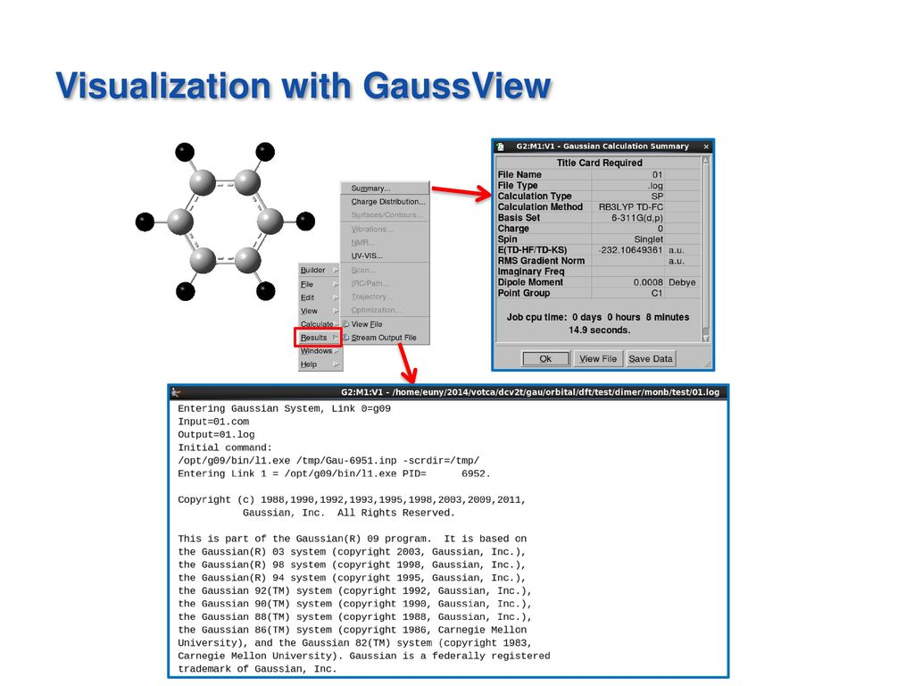 Gaussian 09 Tutorial Ph  D  Candidate - ppt video online download