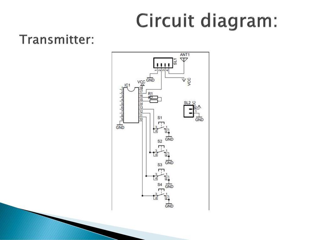 "Wireless equipment control using microcontroller"" - ppt"