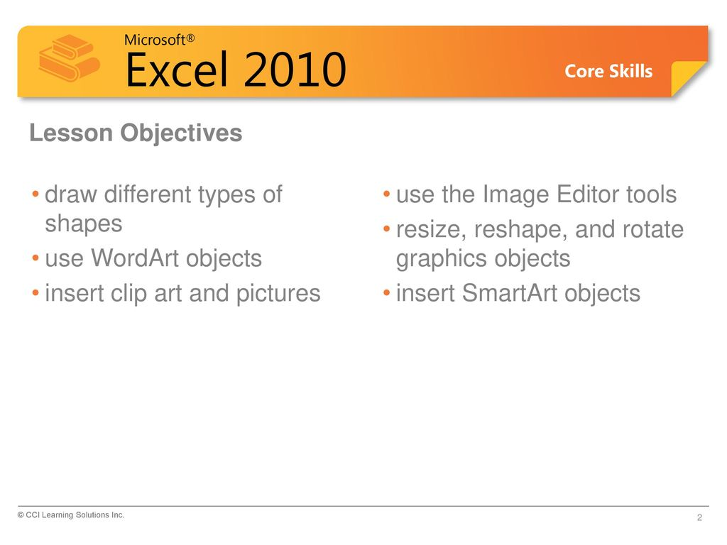 Microsoft® Office Excel ppt download