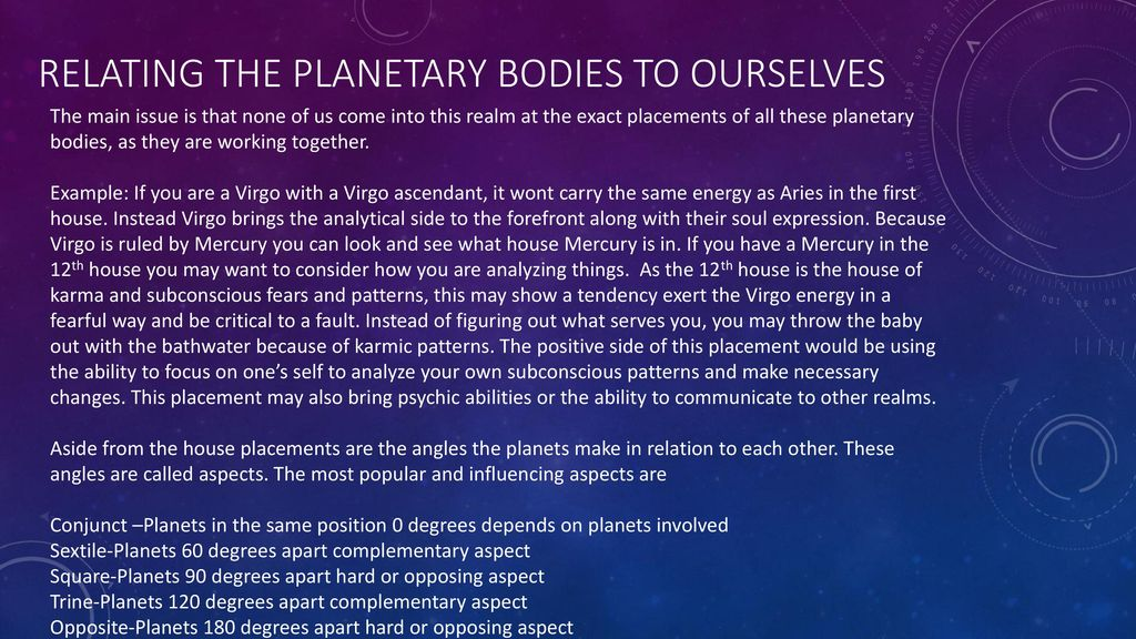 The Planetary bodies How the 7 planets and 7 chakras