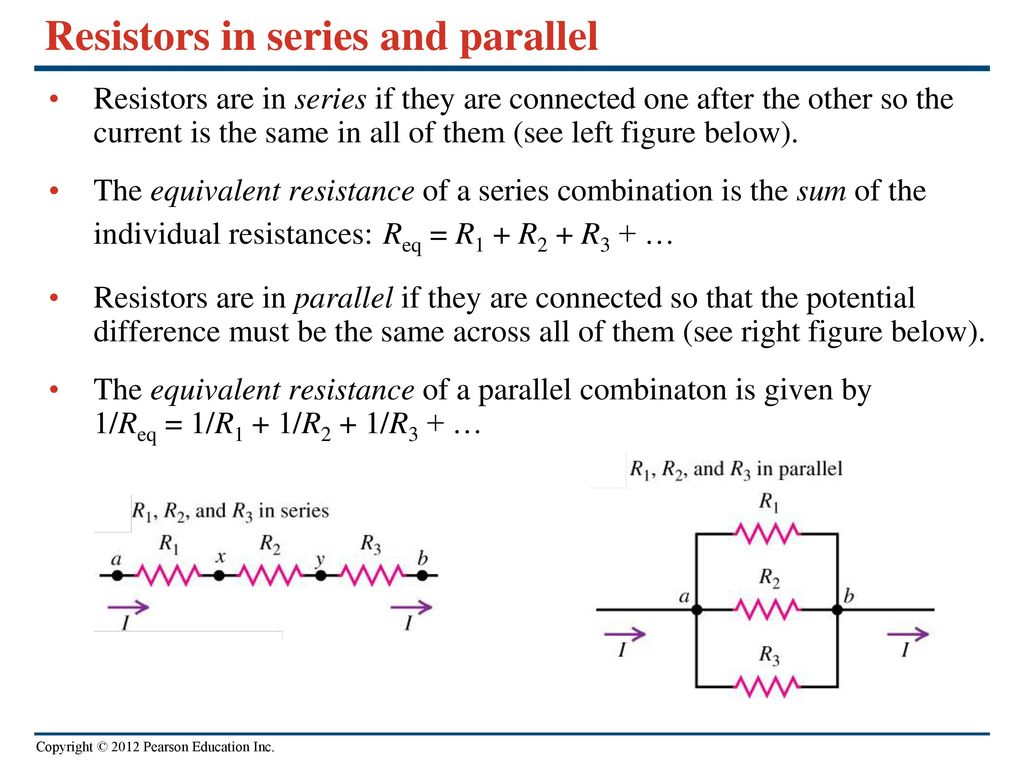 Direct Current Circuits Ppt Download Resistors What Is The Equivalent Resistance Of Circuit Below In Series And Parallel