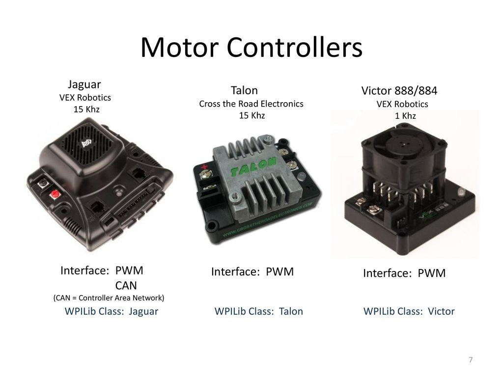 7 Motor Controllers Jaguar ...