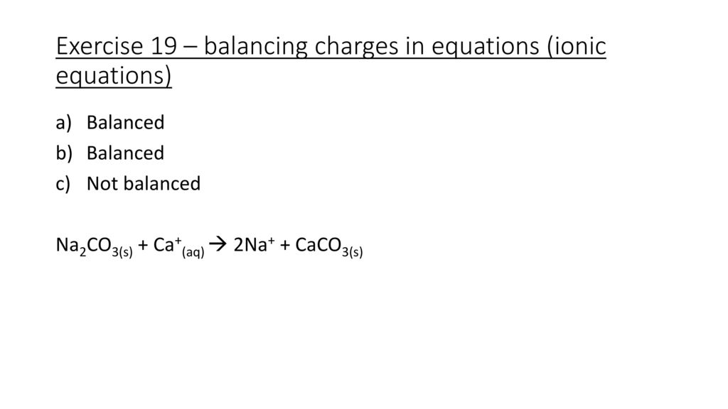 Images of Balanced Net Ionic Equation Calculator - #rock-cafe
