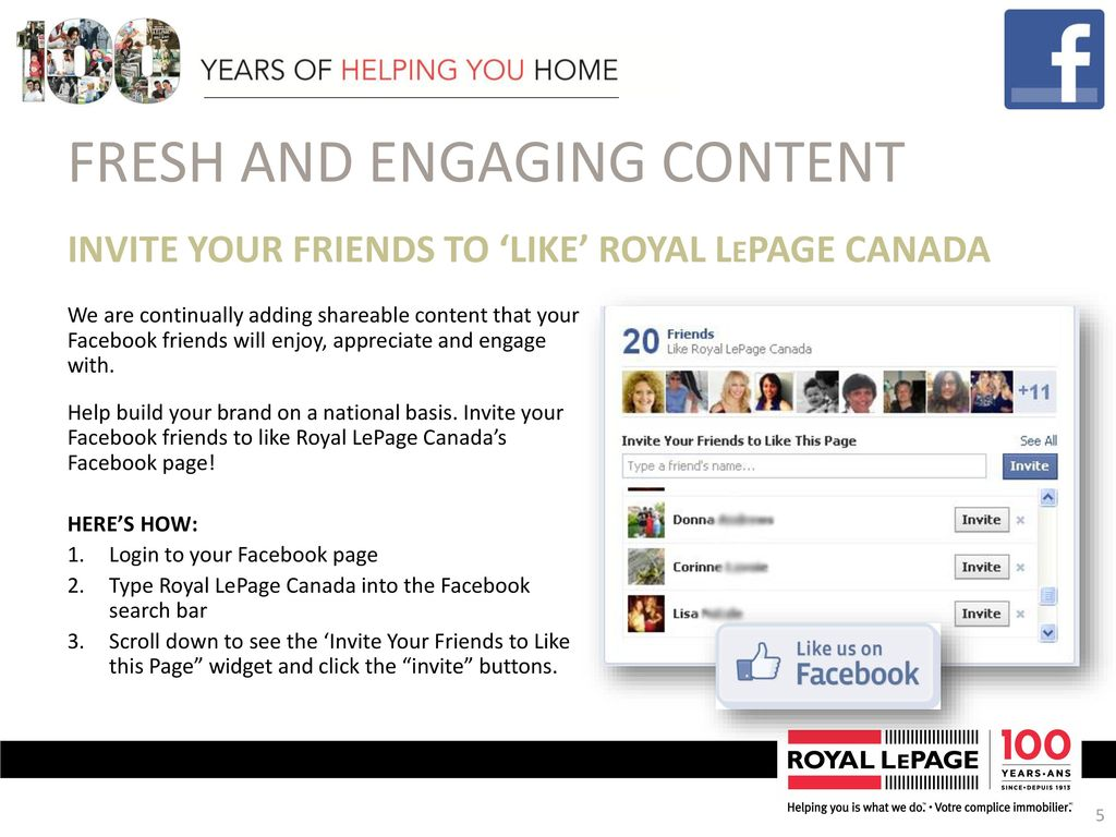 Royal Lepage Update November ppt download