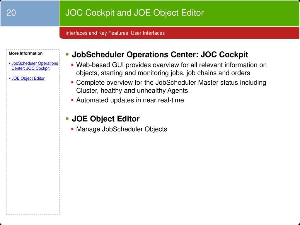Open Source JobScheduler - ppt download