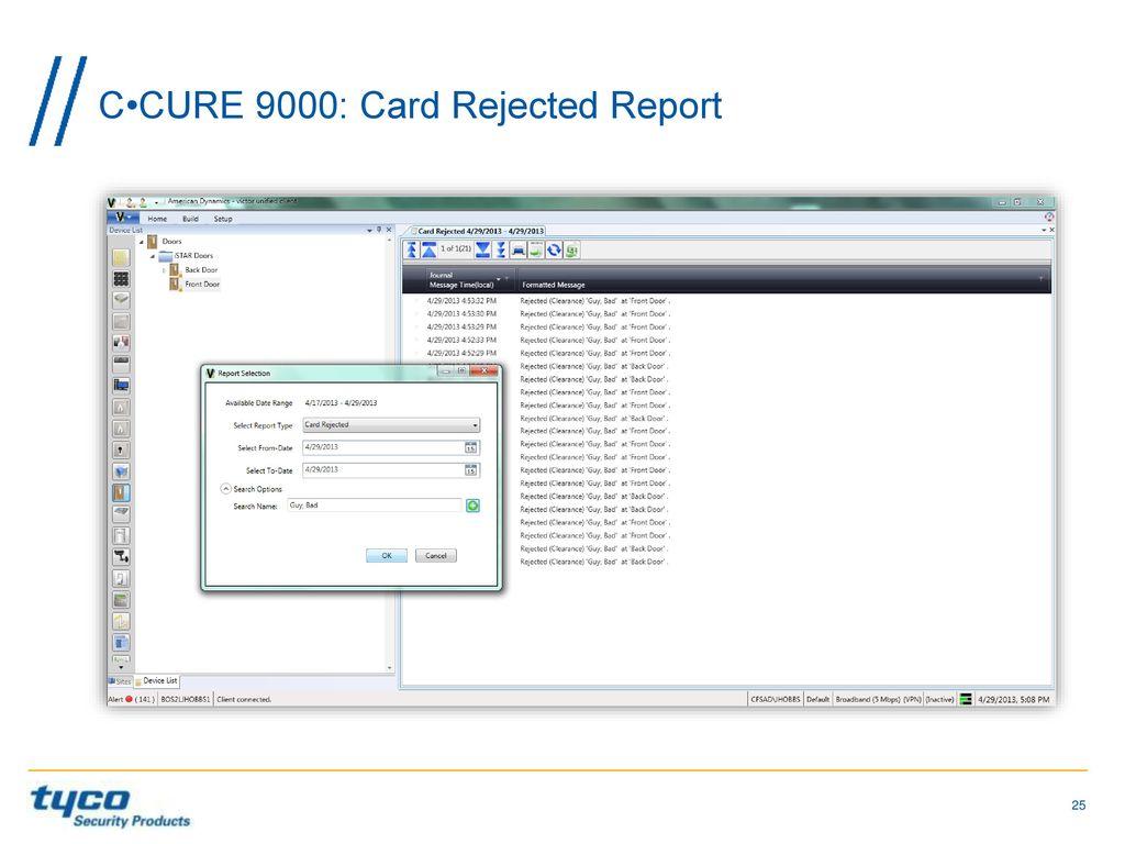 software house jason ouellette product line director ppt video rh slideplayer com Ccure Dealers Ccure 9000