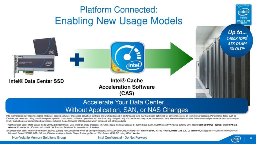 Intel® Cache Acceleration Software (Intel® CAS) for Linux* - ppt