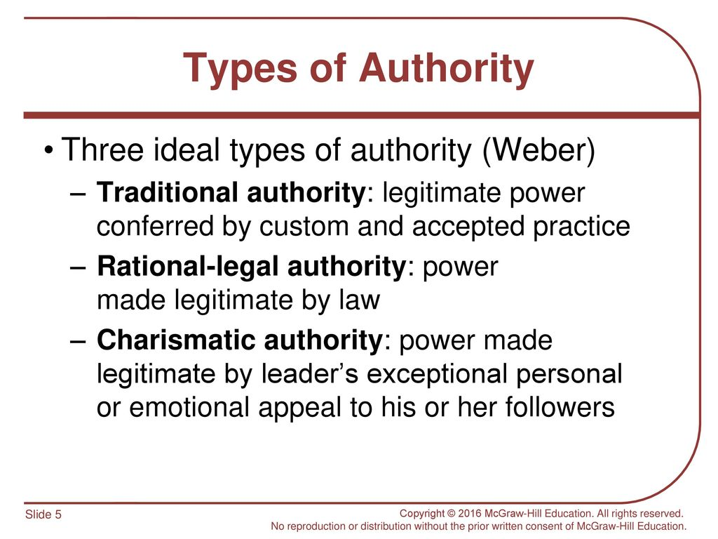 traditional authority sociology