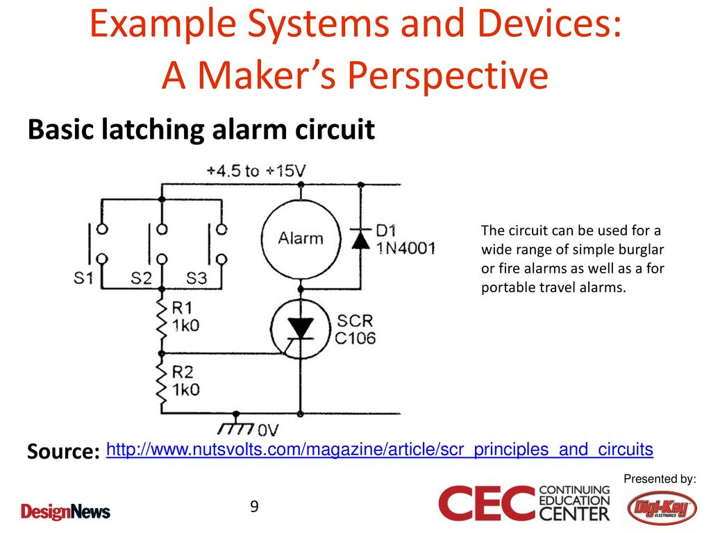 Prototyping Home Automation Concepts Ppt Download Intruder Alarm Circuit 9 Example