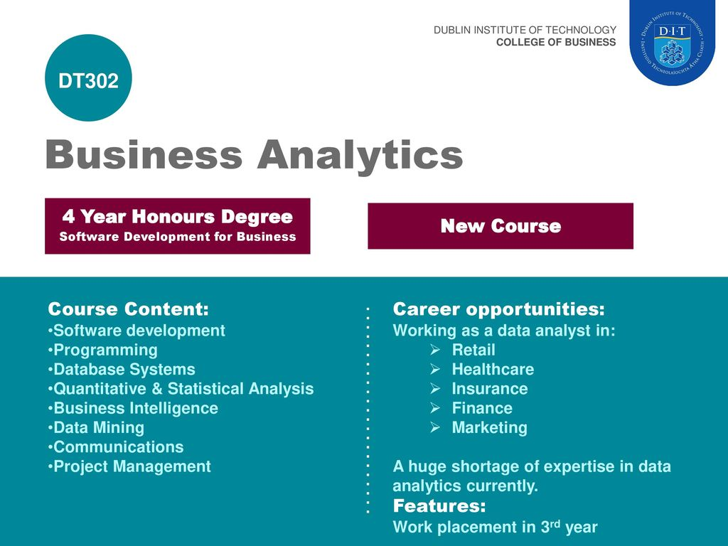 DUBLIN INSTITUTE OF TECHNOLOGY - ppt download