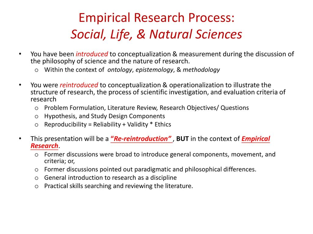 General scientific research methods and their characteristics 33
