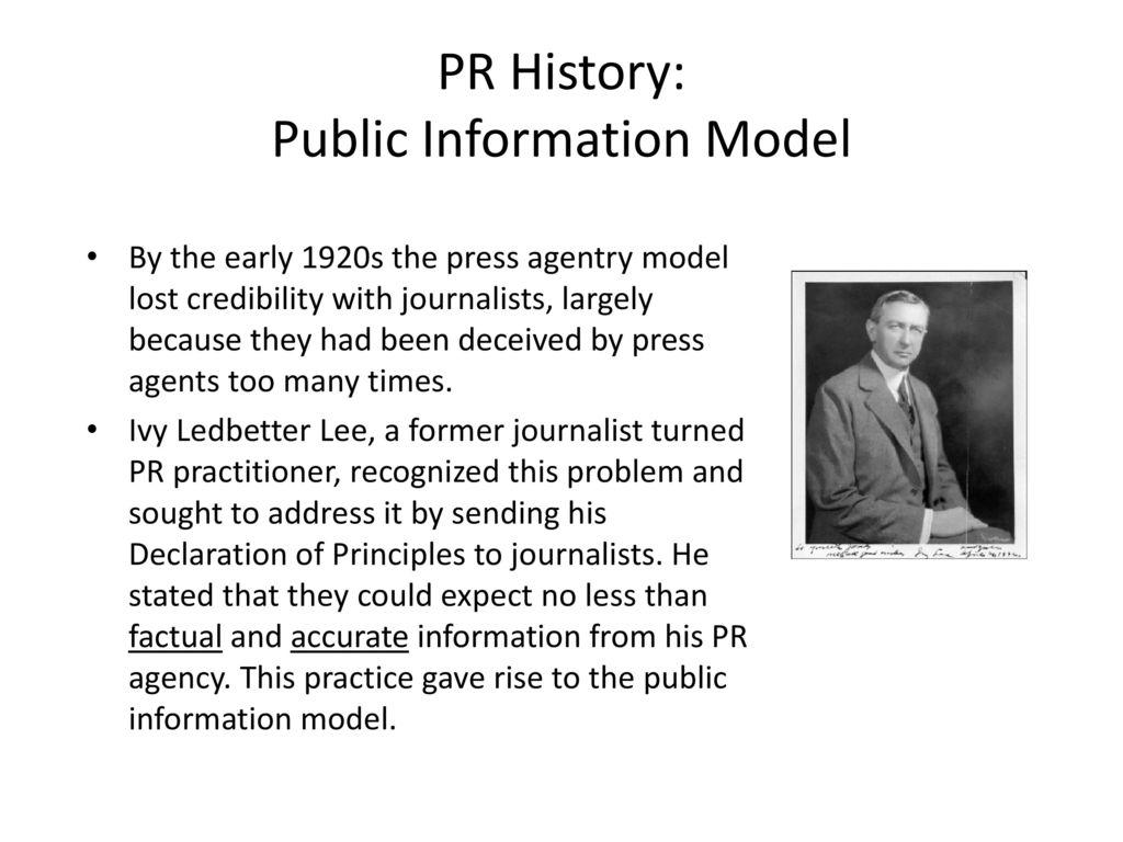 public information model