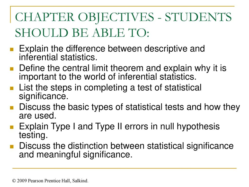 Chapter 8 Introducing Inferential Statistics  - ppt download