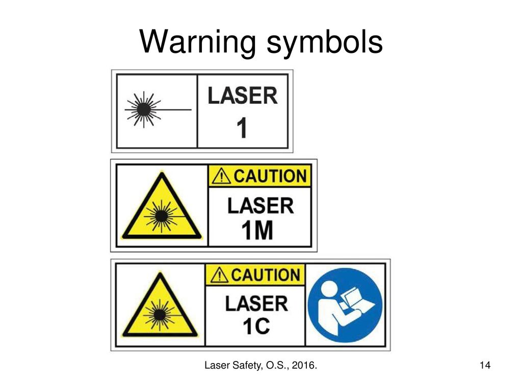 Working With Lasers Updated To Include Iec Ppt Download