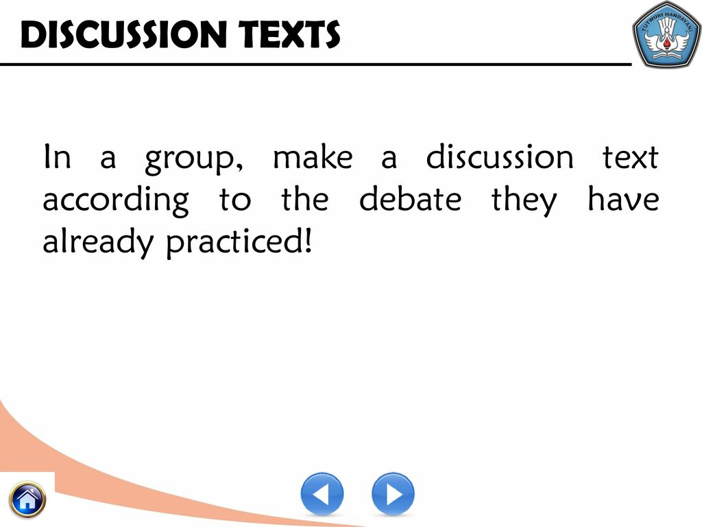 discussion text topics