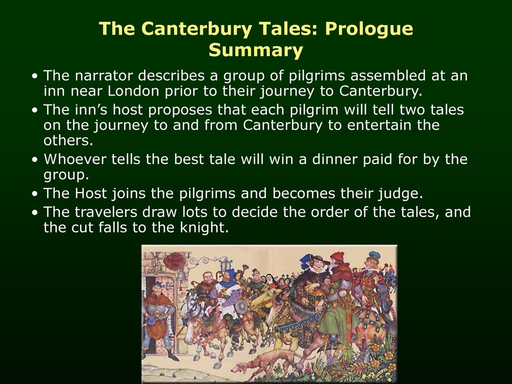 prologue to the canterbury tales characters