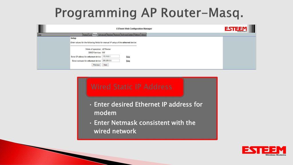 Wireless Ethernet Programming - ppt video online download