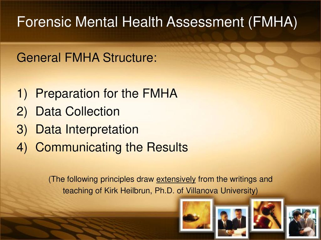 878e19434a497 Forensic Mental Health Assessments - ppt download