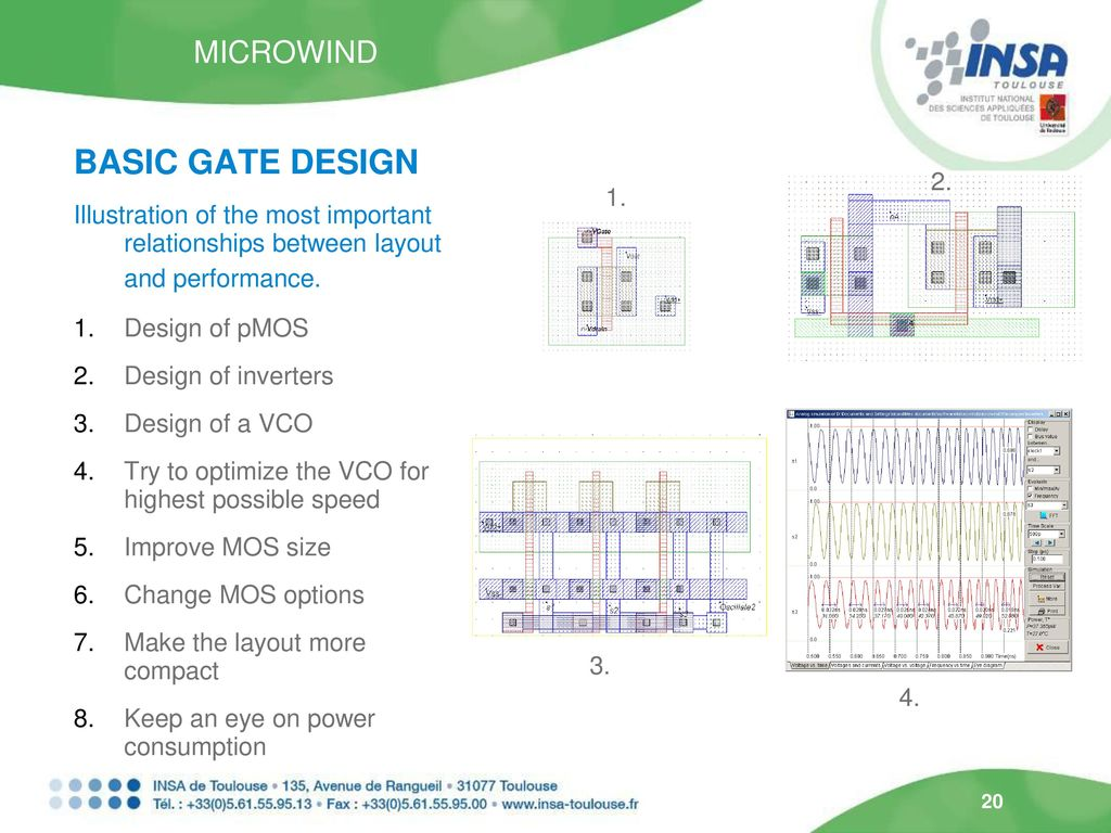 Teaching Cmos Circuit Design In Nanoscale Technologies Using Microwind Simulation Of The Basic Gate 2