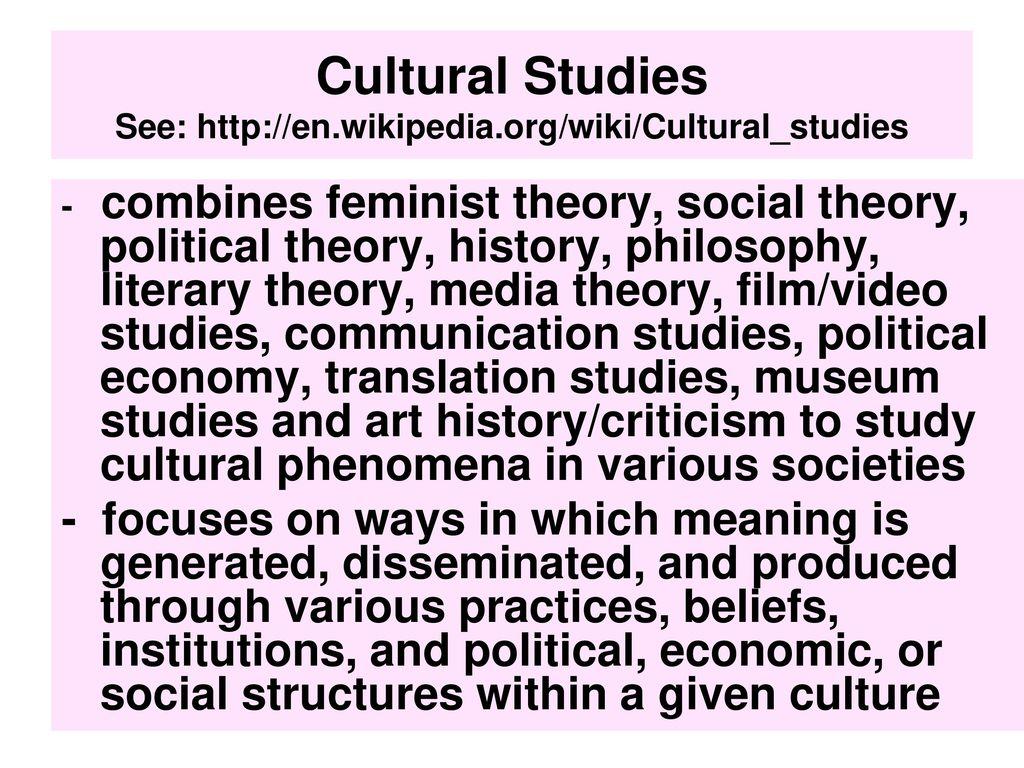 10 Cultural ...