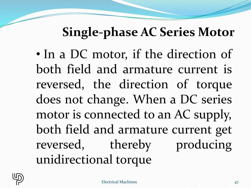 Chapter 11 Special Machines Electrical Ppt Download Volt Single Phase Motor Wiring Diagram Besides Reverse 47
