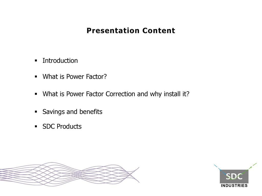 Power Factor Correction The Definitive power solution - ppt video