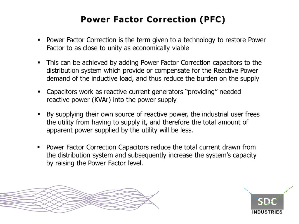 Power Factor Correction The Definitive Solution Ppt Video Capacitors 7