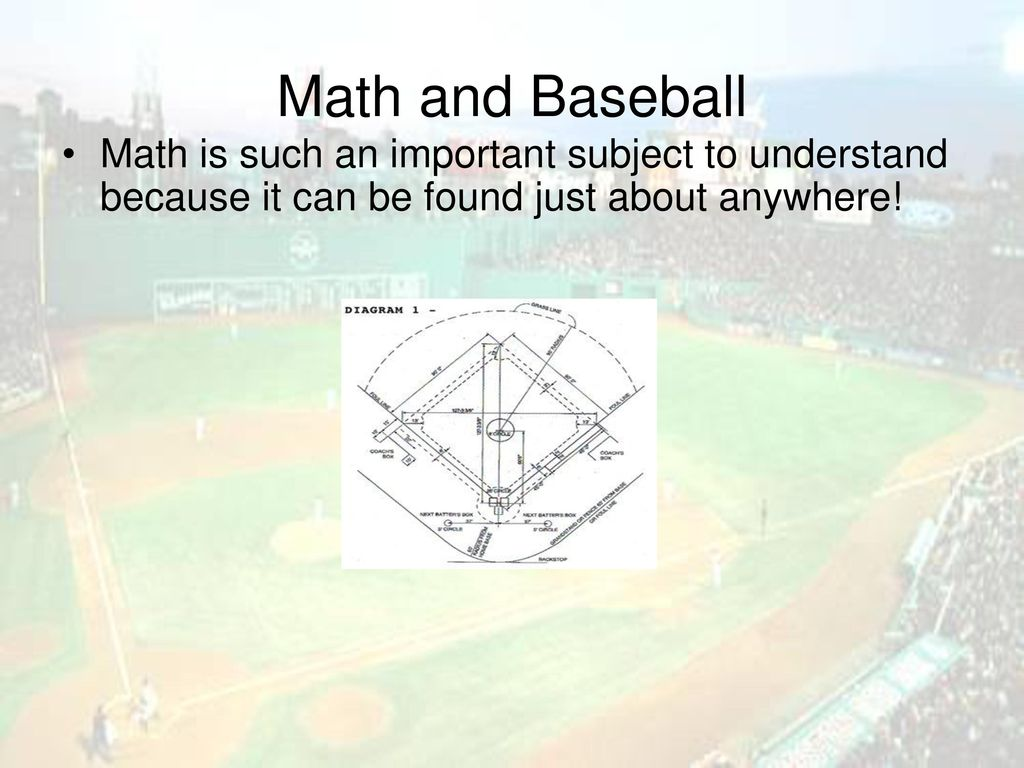Baseball: The Game of Statistics - ppt download