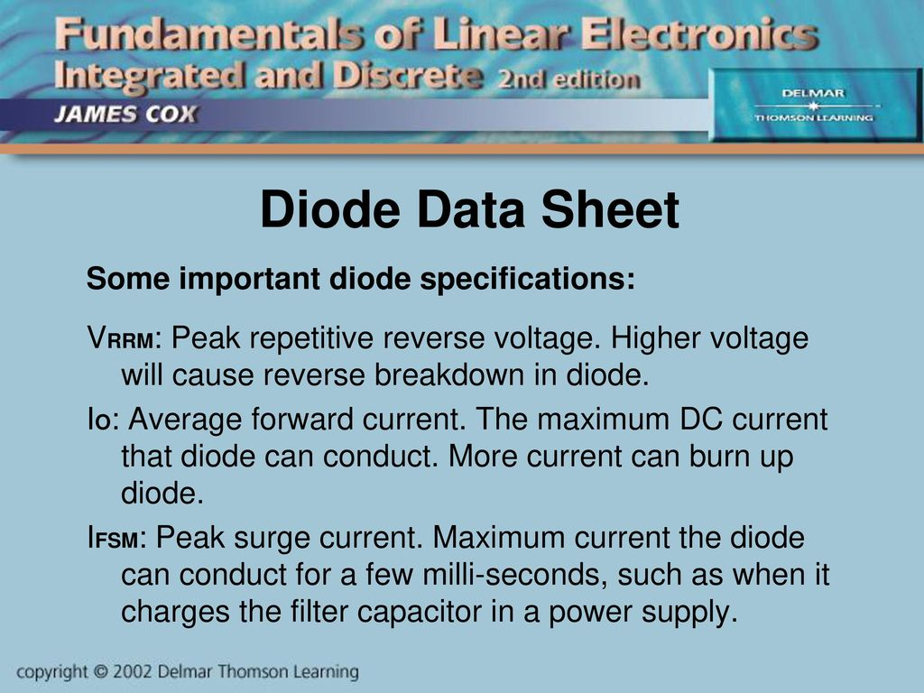 Introduction To Diodes Ppt Download Band Stop Filter Notch Resonant Circuit 555circuit 37 Diode